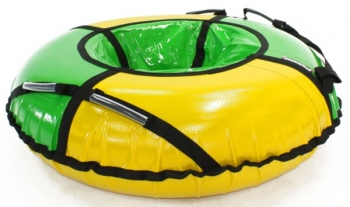 Тюбинг Hubster Sport Pro желтый-зеленый